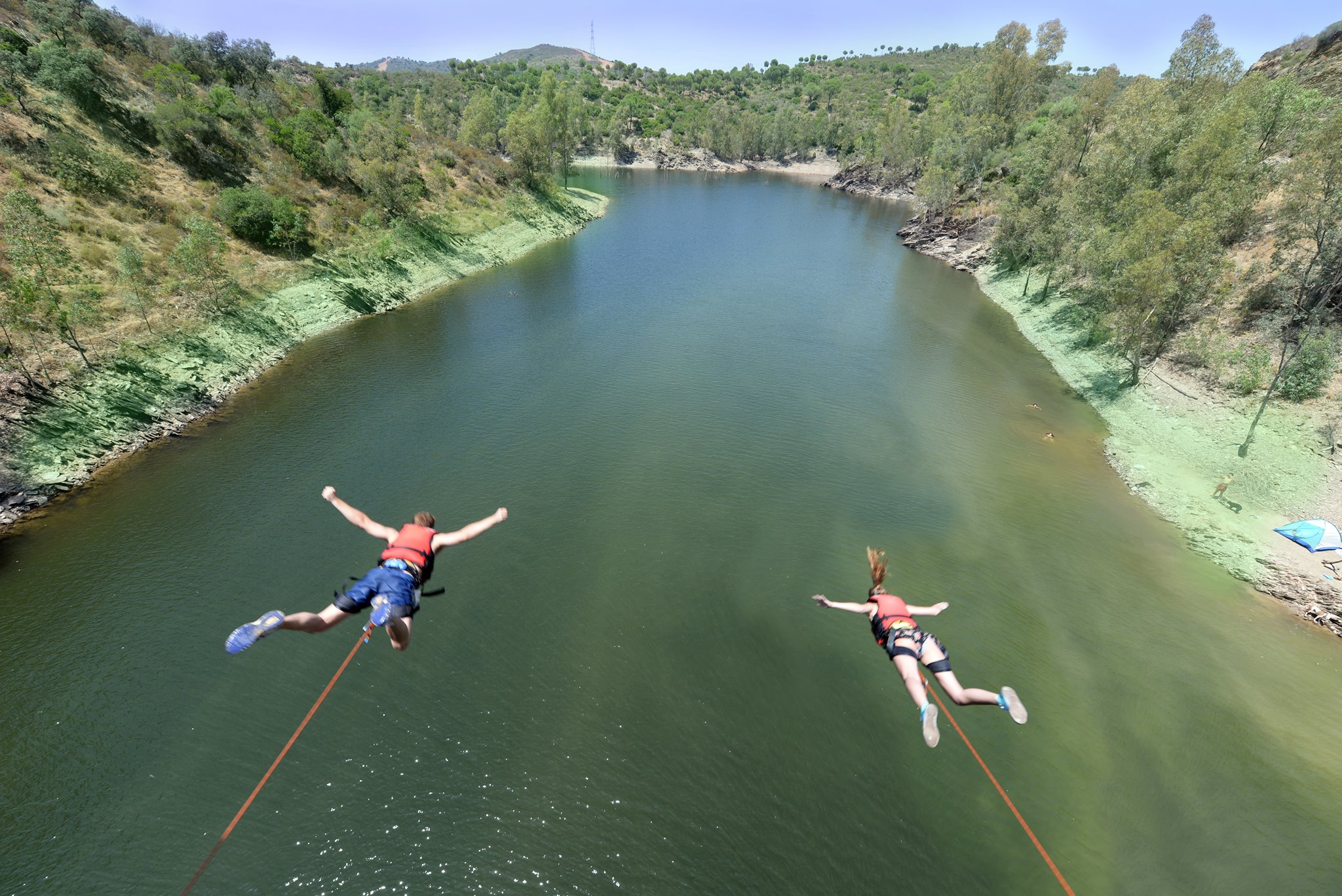 Bungee Jumping in Seville